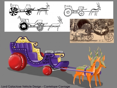 Cantelope Carriage