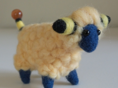 Mareep Pokemon Needle Felt Plush